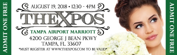 The Xpos Tampa Bridal Show Free Tickets | August 2018