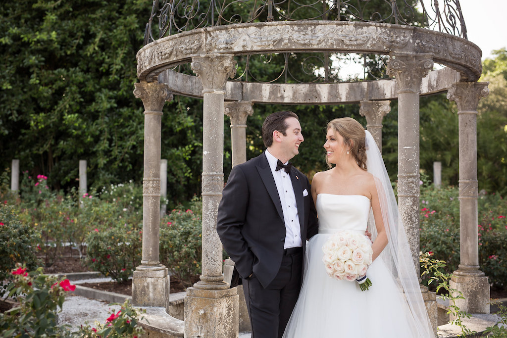 Bride and Groom Wedding Portrait | Sarasota Wedding Photographer Cat Pennenga Photography | Planner NK Productions
