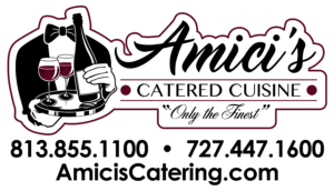Tampa Bay Wedding Catering Company Amici's Catered Cuisine