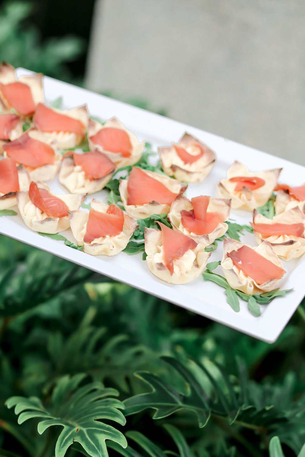 Cocktail Hour Passed Hors d'oeuvres/Appetizers   Marry Me Tampa Bay and Isabel O'Neil Bridal Fashion Runway Show 2018   Tampa Wedding Photographer Lifelong Photography Studios (41)