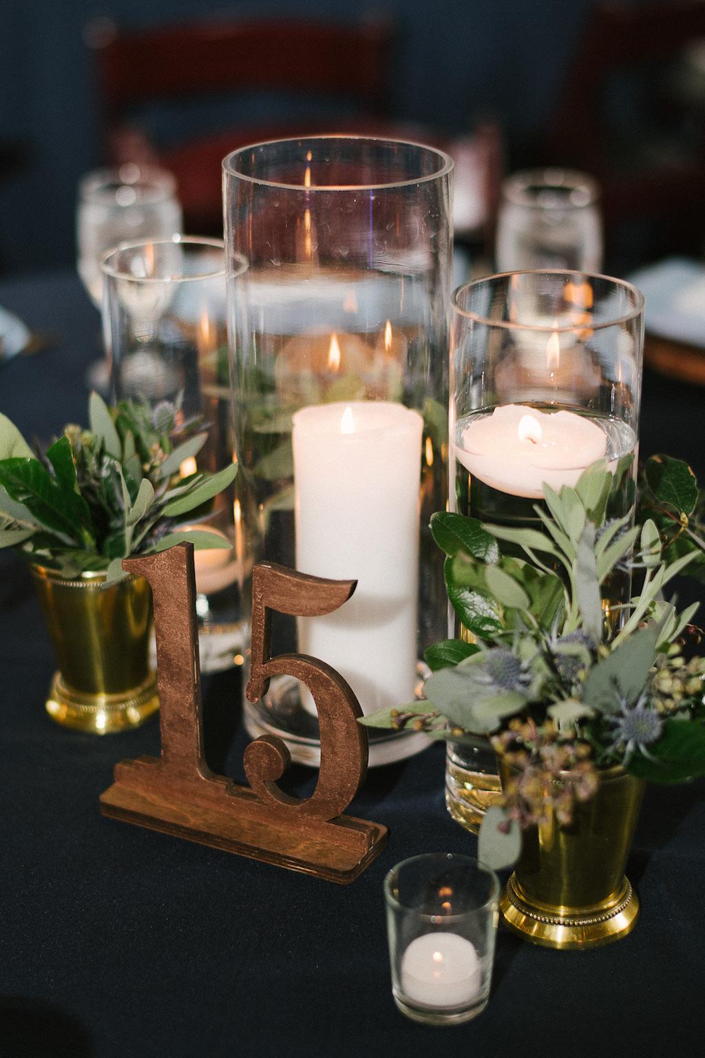 Navy Blue Wedding Reception Decor, Wooden Lasercut Table Number ...