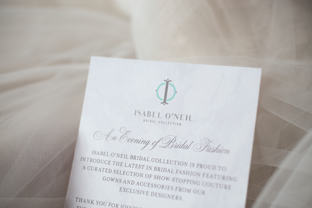 White Wedding Program by URBANcoast   Marry Me Tampa Bay and Isabel O'Neil Bridal Fashion Runway Show 2018   Tampa Wedding Photographer Lifelong Photography Studios