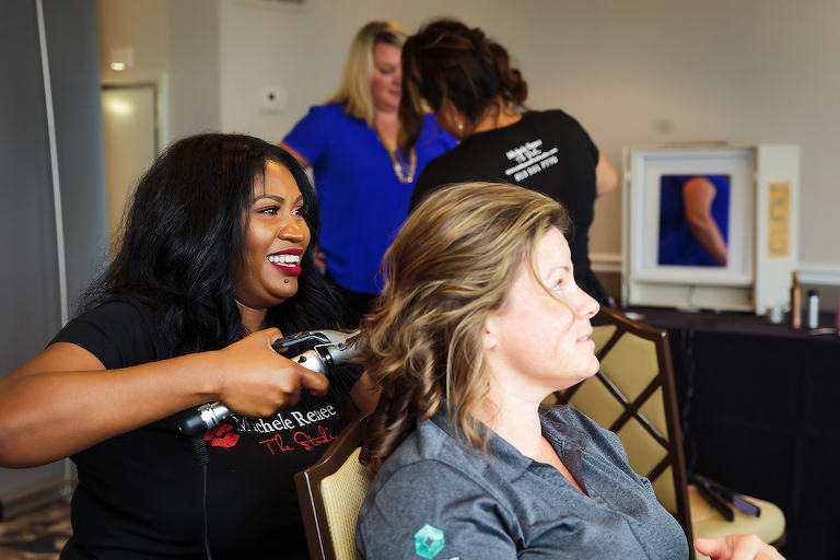 Tampa Bay Wedding Hair and Makeup Michele Renee The Studio