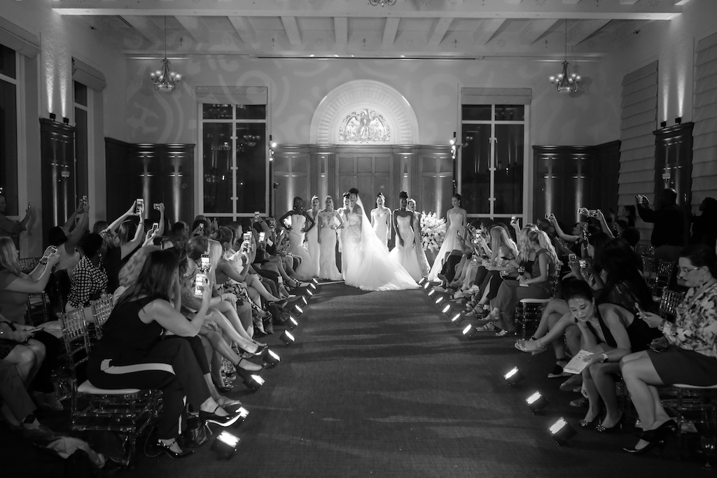 Marry Me Tampa Bay and Isabel O'Neil Bridal Fashion Runway Show 2018   Tampa Wedding Photographer Lifelong Photography Studios   Historic Downtown Tampa Venue Le Meridien