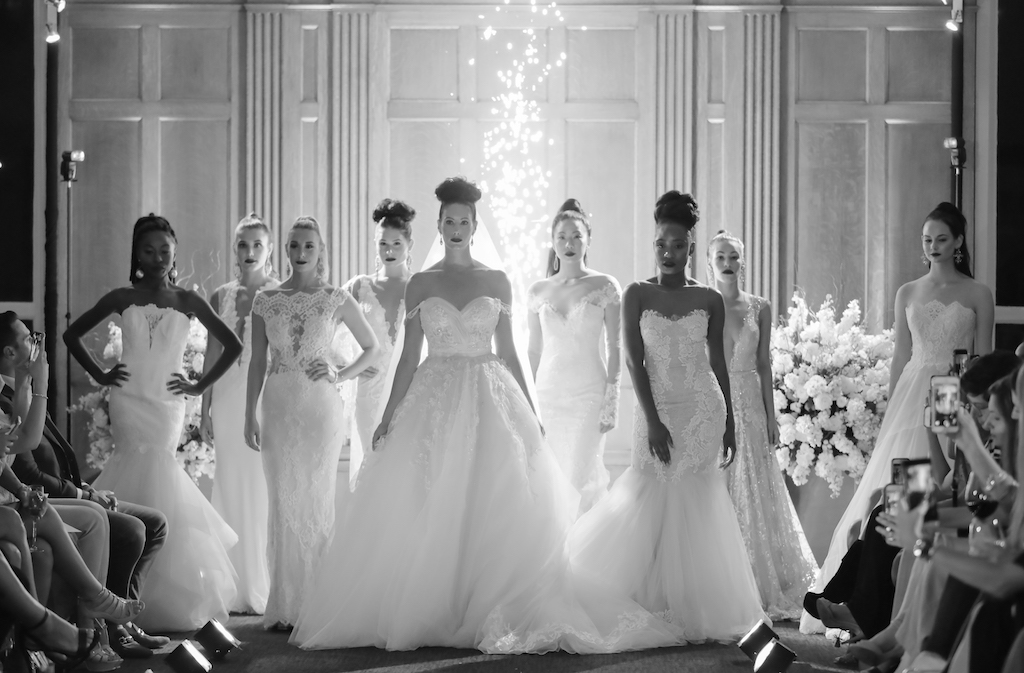 Marry Me Tampa Bay and Isabel O'Neil Bridal Fashion Runway Show 2018   Tampa Wedding Photographer Lifelong Photography Studios   Sparklers Spark Weddings
