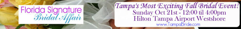 Florida Signature Bridal Affair | Tampa Wedding Show October 21st, 2018