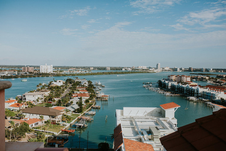 Waterfront Tampa Bay Wedding Venue Hyatt Regency Clearwater Beach