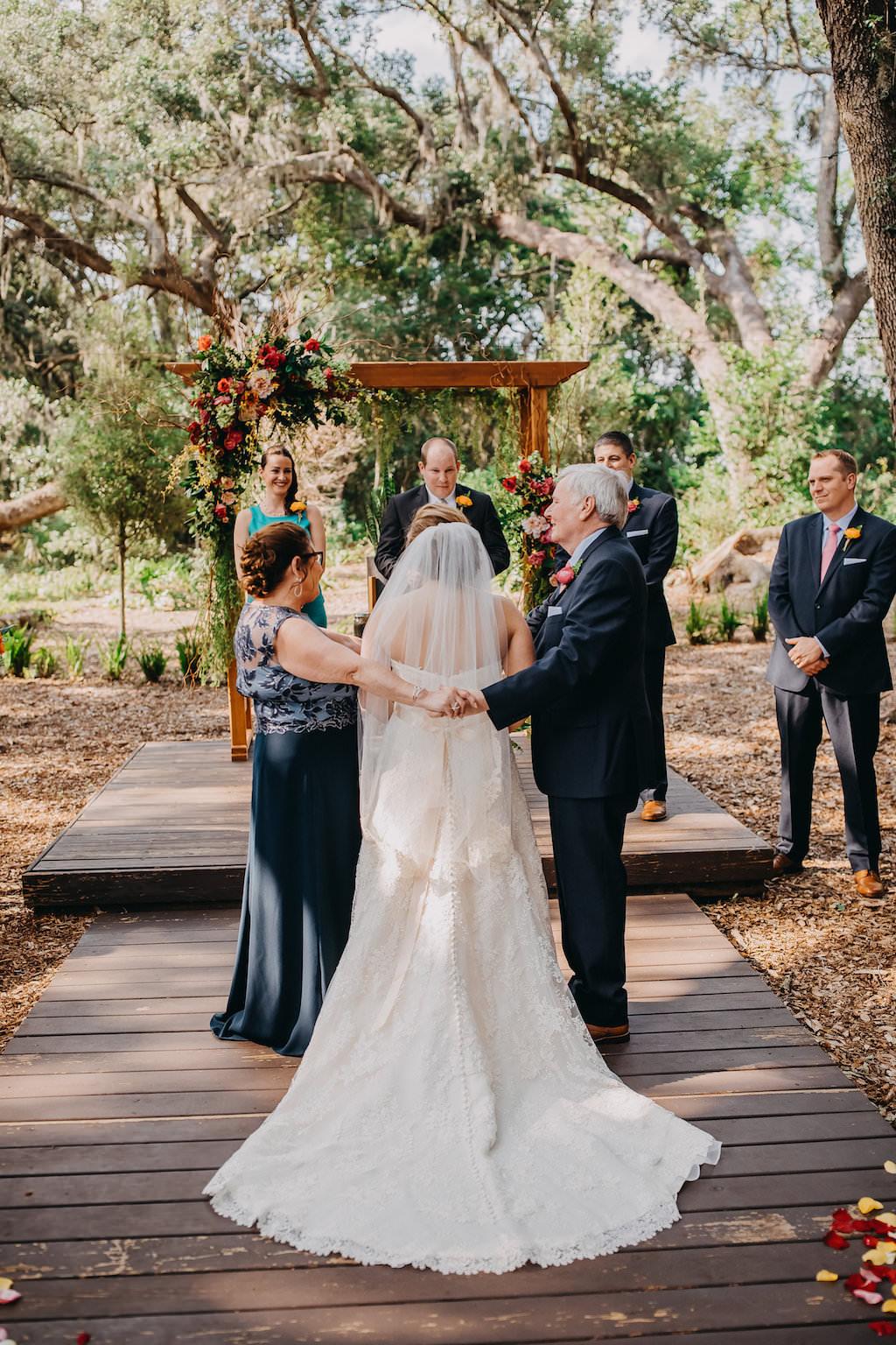 Outdoor Tropical Wedding Ceremony Portrait | Tampa Bay ...
