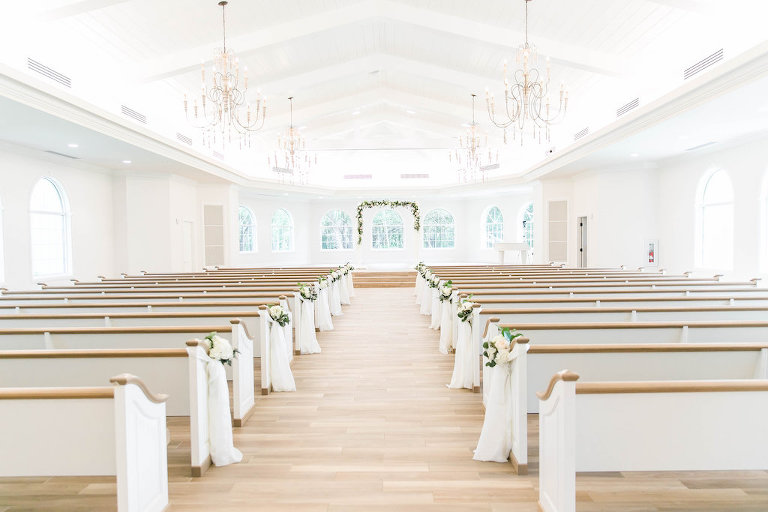 Wedding Ceremony at Clearwater Wedding Ceremony Venue Harborside Chapel