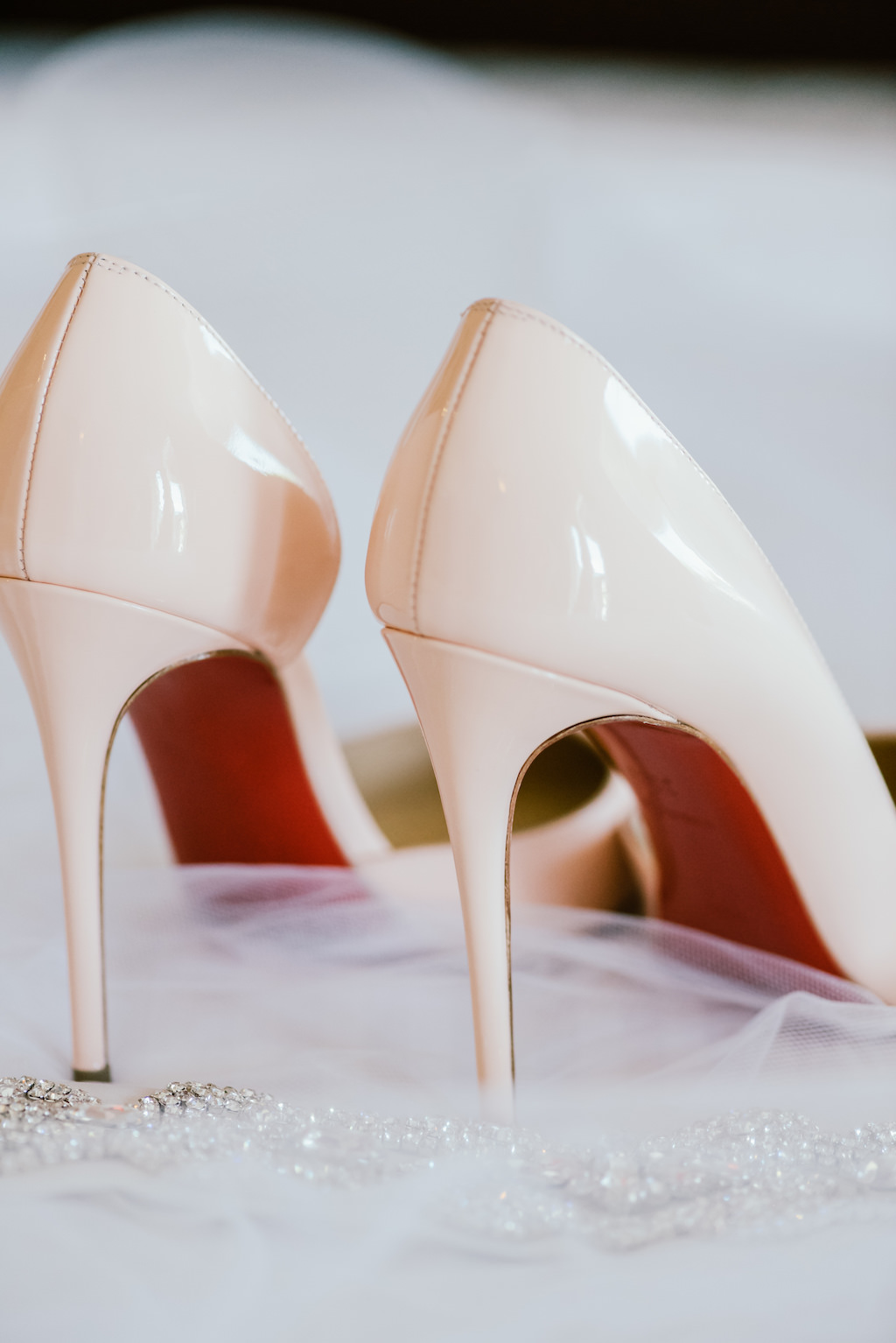 free shipping 6bbad 5df6a Off White Red Bottom Wedding Shoes and Rhinestone Garter ...