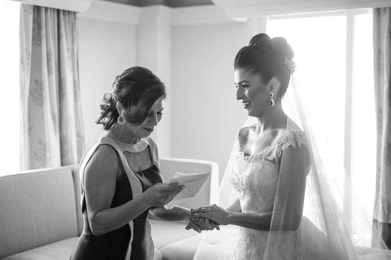 Bride and Mother of the Bride Wedding Portrait | St. Pete Wedding Photographer Marc Edwards Photographs