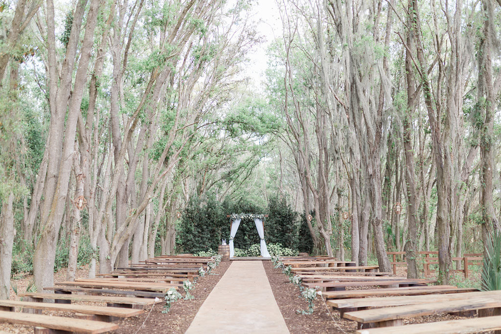 Twilight Inspired Outdoor Rustic Plant City Ceremony
