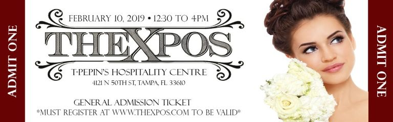 The Expos Tampa Bridal Show February 2019 | T Pepin Hospitality Centre