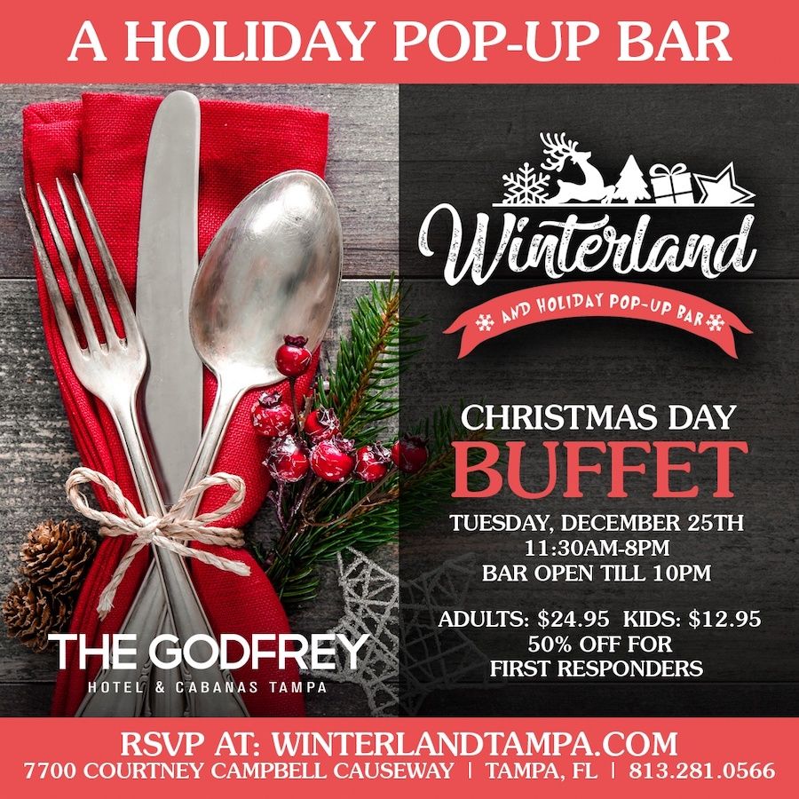 4 Upscale Tampa Bay Restaurants Offering Christmas Day Dinner
