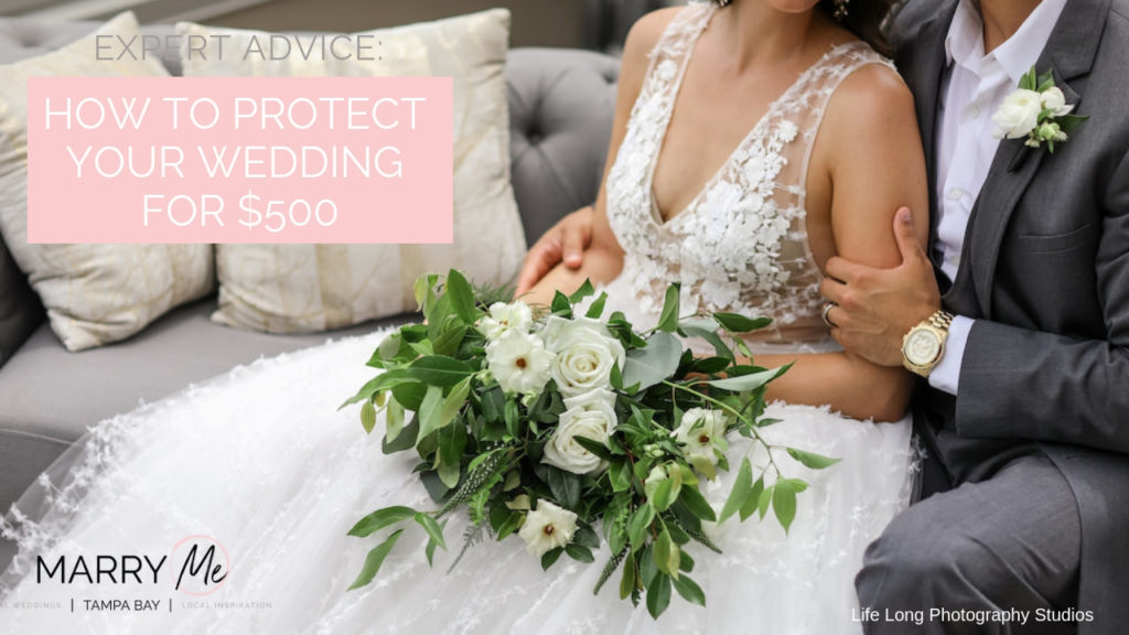 Expert Advice: How to Protect Your Wedding Deposits | Wedding Protector Plan Wedding Insurance