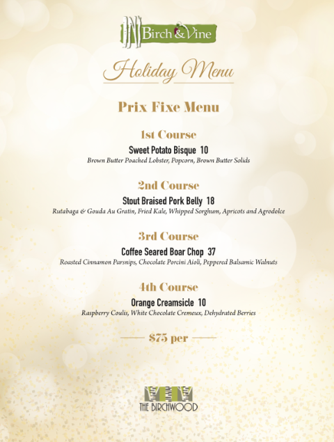 Christmas Dinner 2018 in Downtown St. Pete at The Birchwood