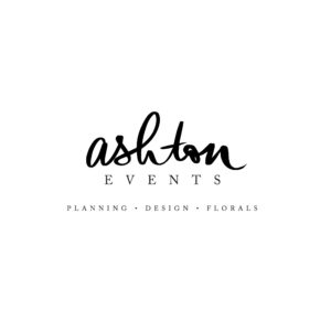 Tampa, Orlando, Lakeland Full-Service Wedding Planning, Designs and Florals by Ashton Events Logo