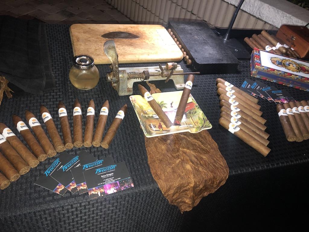 Tampa Bay Wedding Entertainment | Cigar Roller at Weddings in Tampa Bay