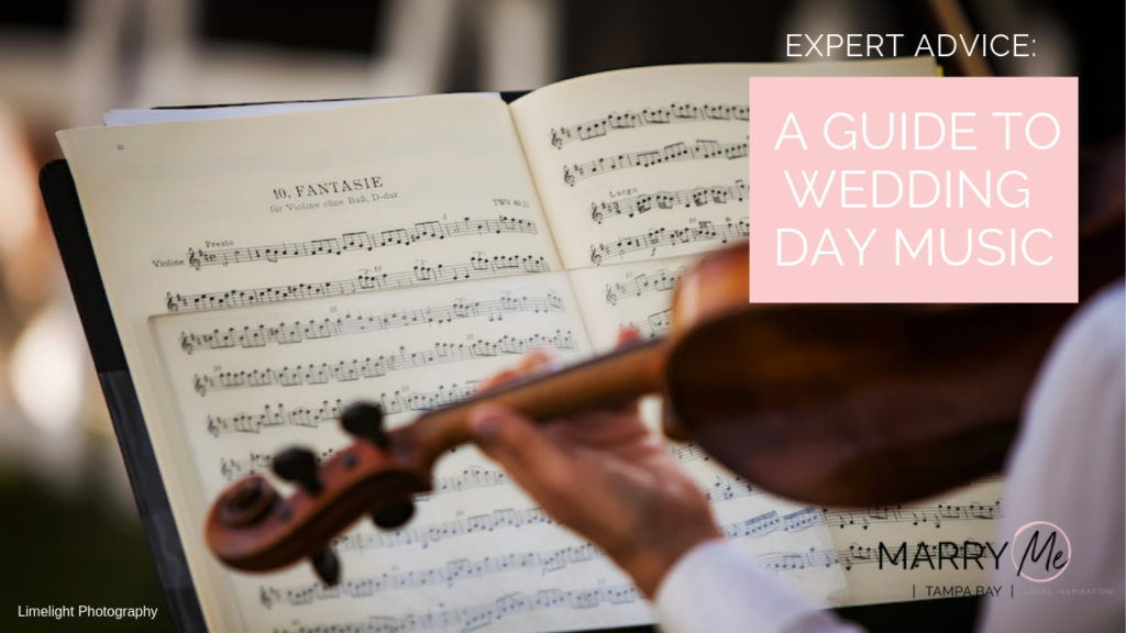 Expert Advice: A Guide to Wedding Day Music