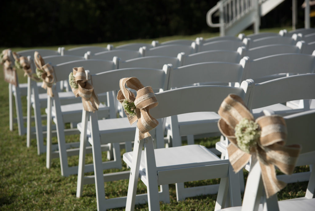 Peachy Outdoor Wedding Ceremony Decor White Wooden Folding Chairs Ncnpc Chair Design For Home Ncnpcorg