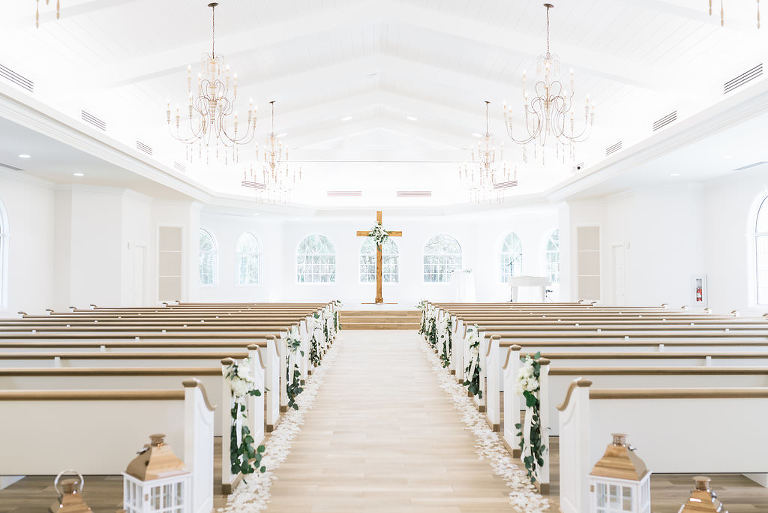 Harborside Chapel Tampa Bay Wedding Ceremony Church Venue