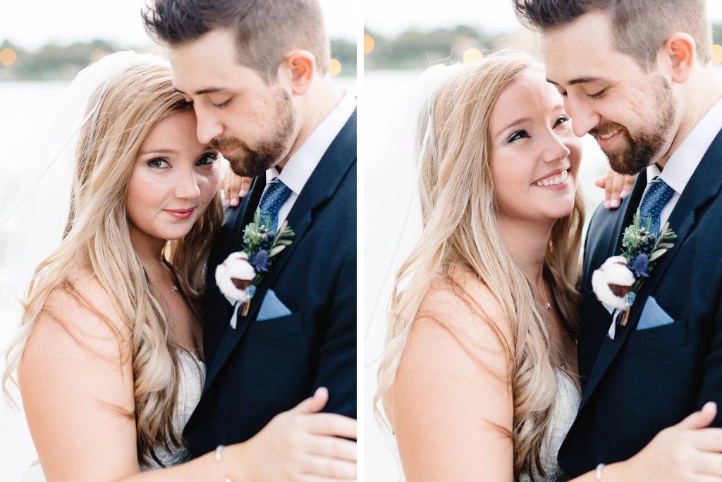 Tampa Bay Bride and Groom Wedding Portrait