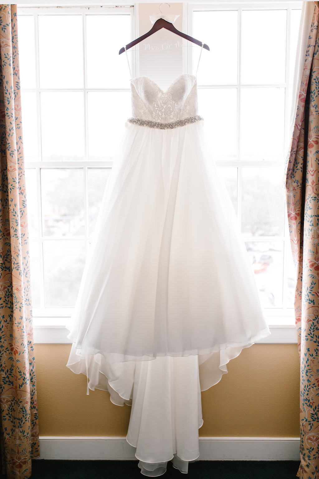 Sweetheart Strapless Lace Bodice and Organza and Tulle Ball Gown Skirt with Rhinestone Belt Essense of Australia Wedding Dress