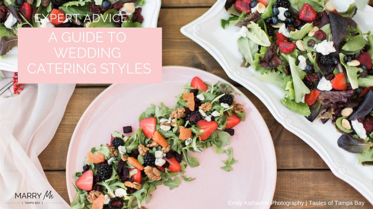 Expert Advice: A Guide to Tampa Bay Wedding Catering Styles