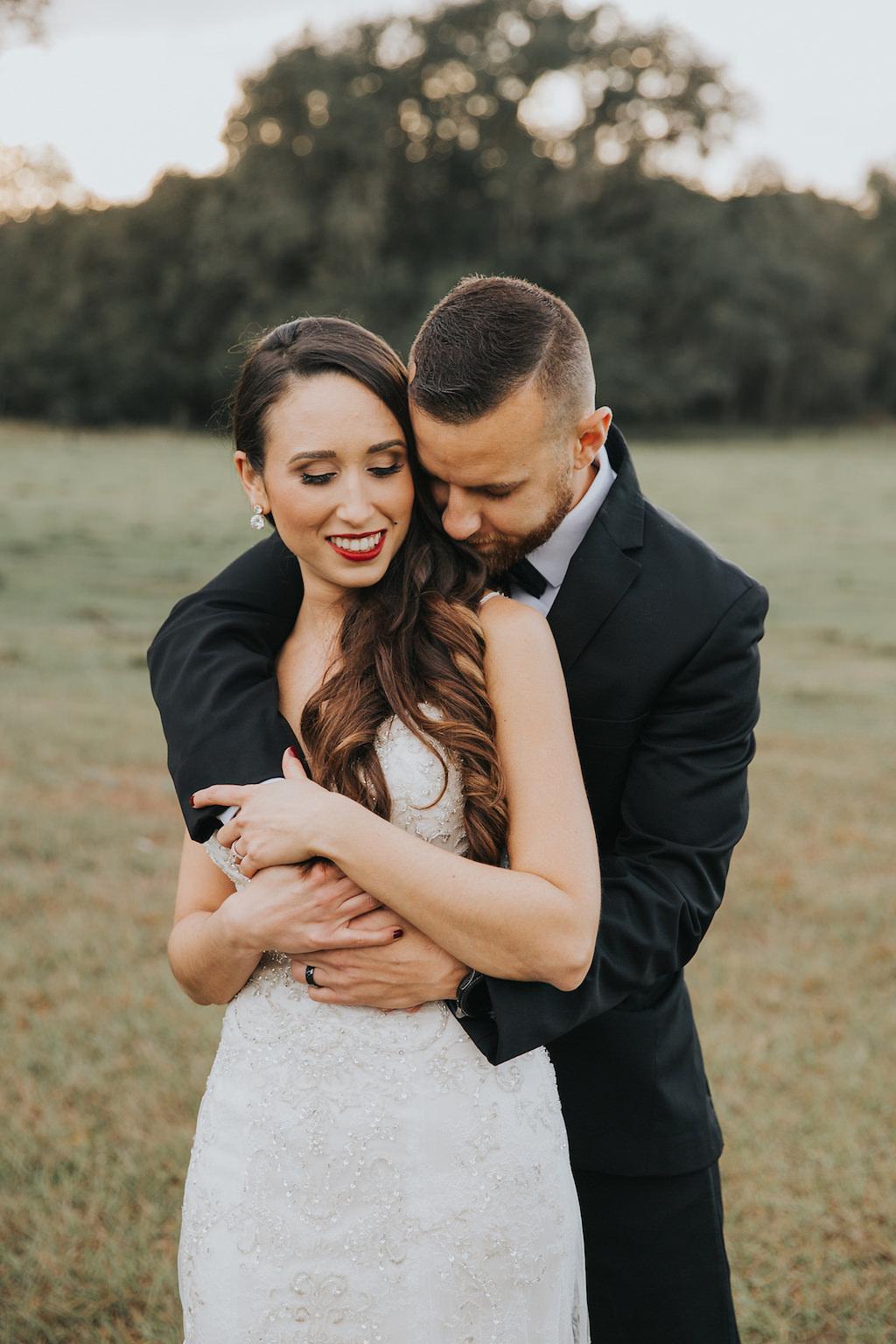 Tampa Bay Bride and Groom Wedding Portrait, White Wedding ...