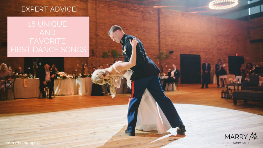 18 Unique and Favorite First Dance Songs | Wedding Planning Music Advice