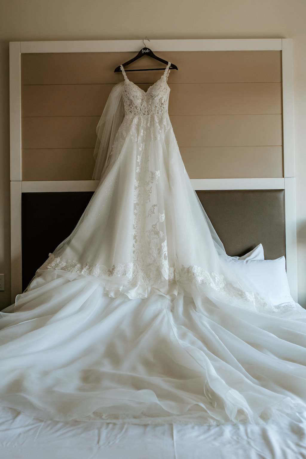 Romantic Bridal Detail, Essense of Australia White Sweetheart Neckline and Straps Ballgown Wedding Dress with Lace Detailing, Cathedral Length Train