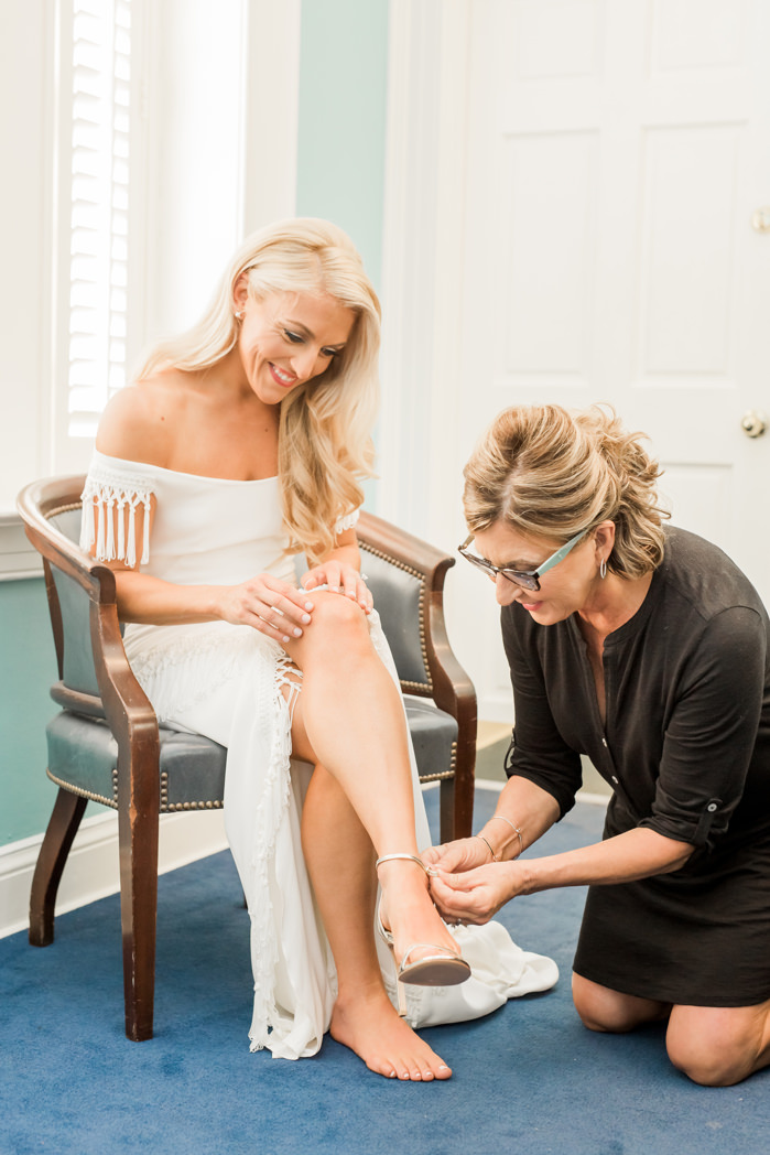 Tampa Bride Getting Ready Wedding Portrait | Hair and Makeup Artist LDM Beauty Group