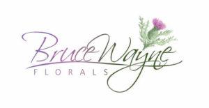Bruce Wayne Florals Logo