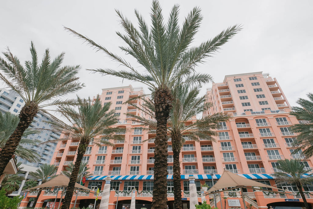 Waterfront Clearwater Beach Wedding Venue Hyatt Regency Clearwater Beach