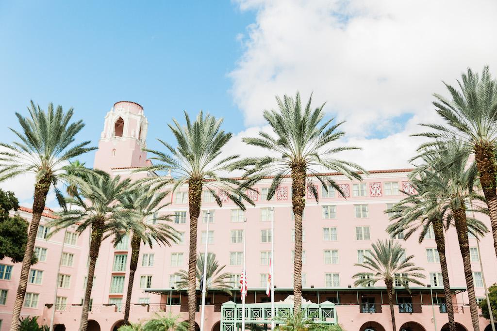 Tropical, Florida Resort Waterfront Wedding Venue | The Vinoy Renaissance St. Petersburg Resort & Golf Club