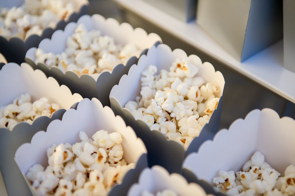 Wedding Popcorn Food Dessert Bar