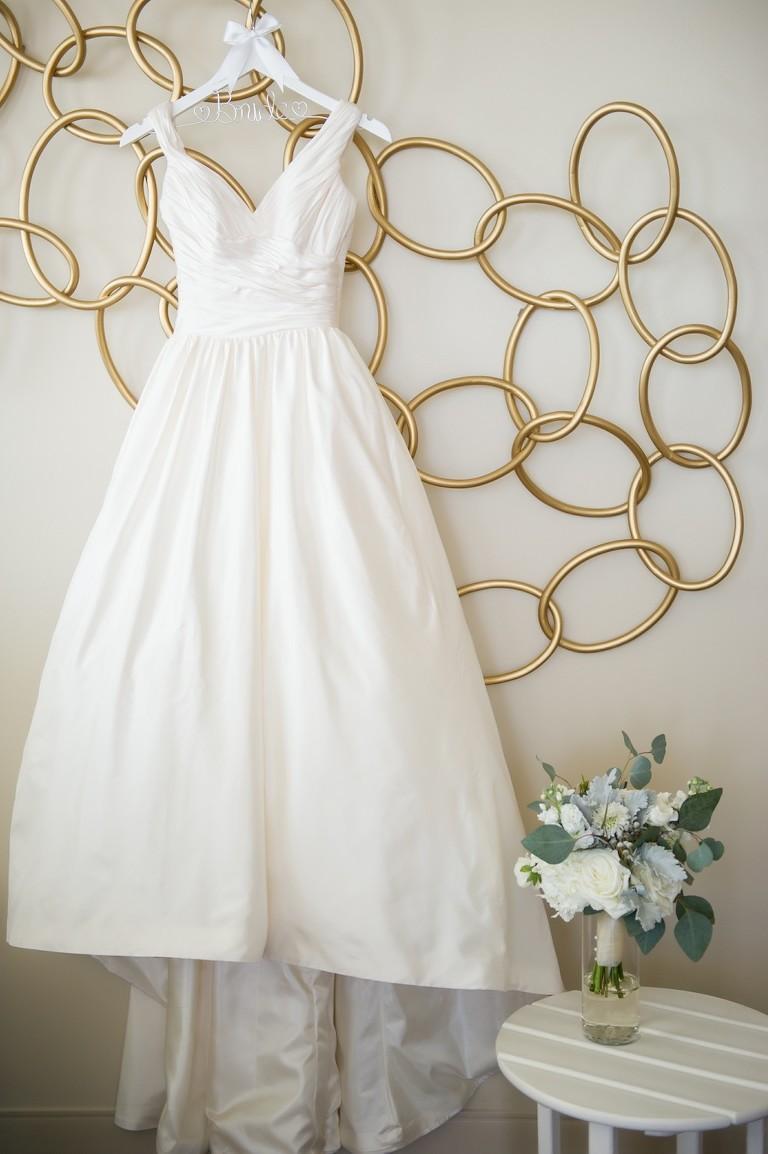 Traditional A-Line Wedding Dress