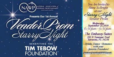 National Association of Wedding Professionals Vendor Prom Starry Night