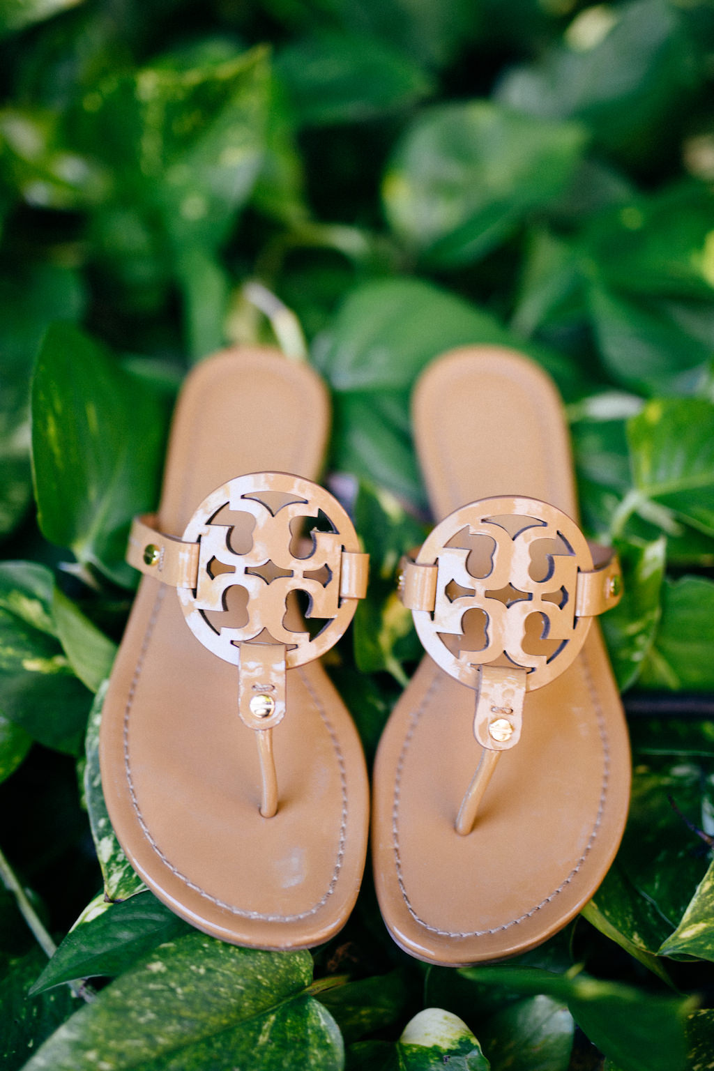 Nude Tory Burch Sandals Wedding Shoes