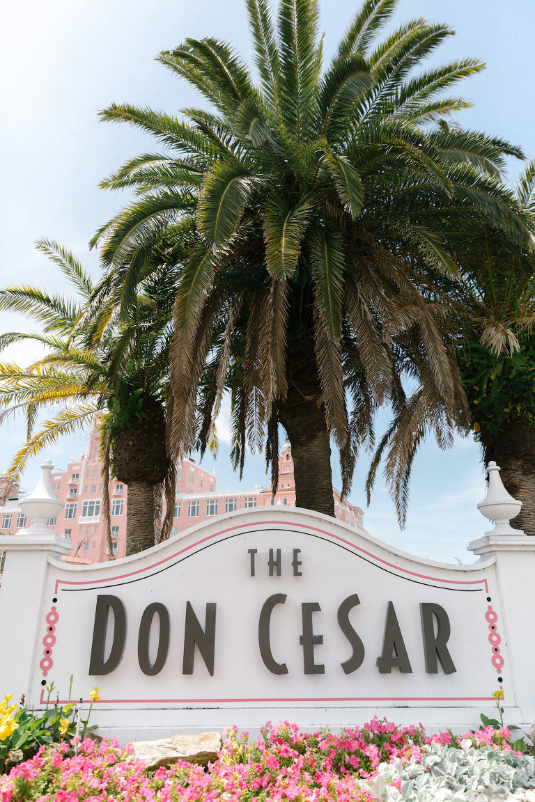 The Pink Palace, Historic Beachfront Florida Wedding Venue The Don CeSar in St. Pete Beach