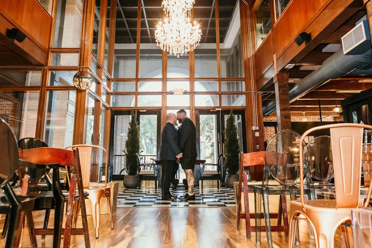 Downtown St. Pete Unique Wedding Venue Station House | Boho Chic Rooftop St. Pete Wedding Venue