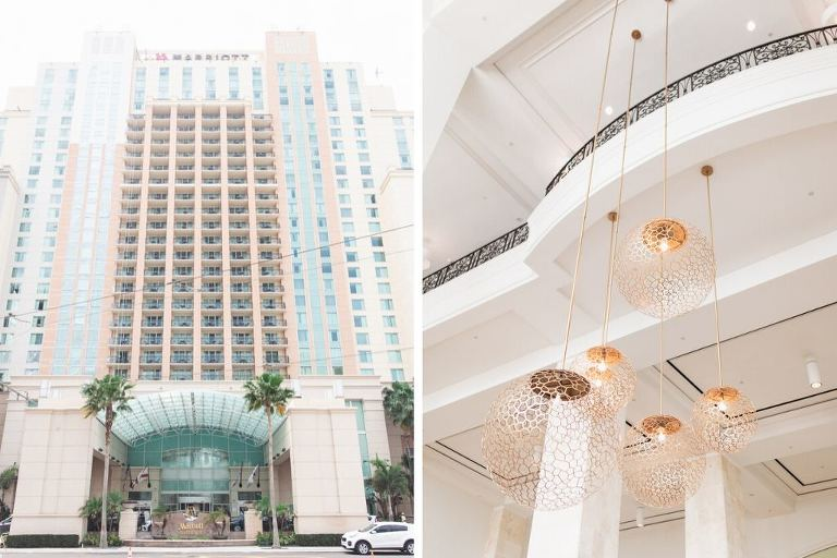 Getting Ready Wedding Location | Tampa Hotel Marriott Water Street