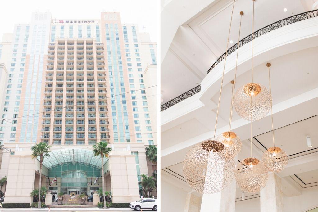 Getting Ready Wedding Location   Tampa Hotel Marriott Water Street