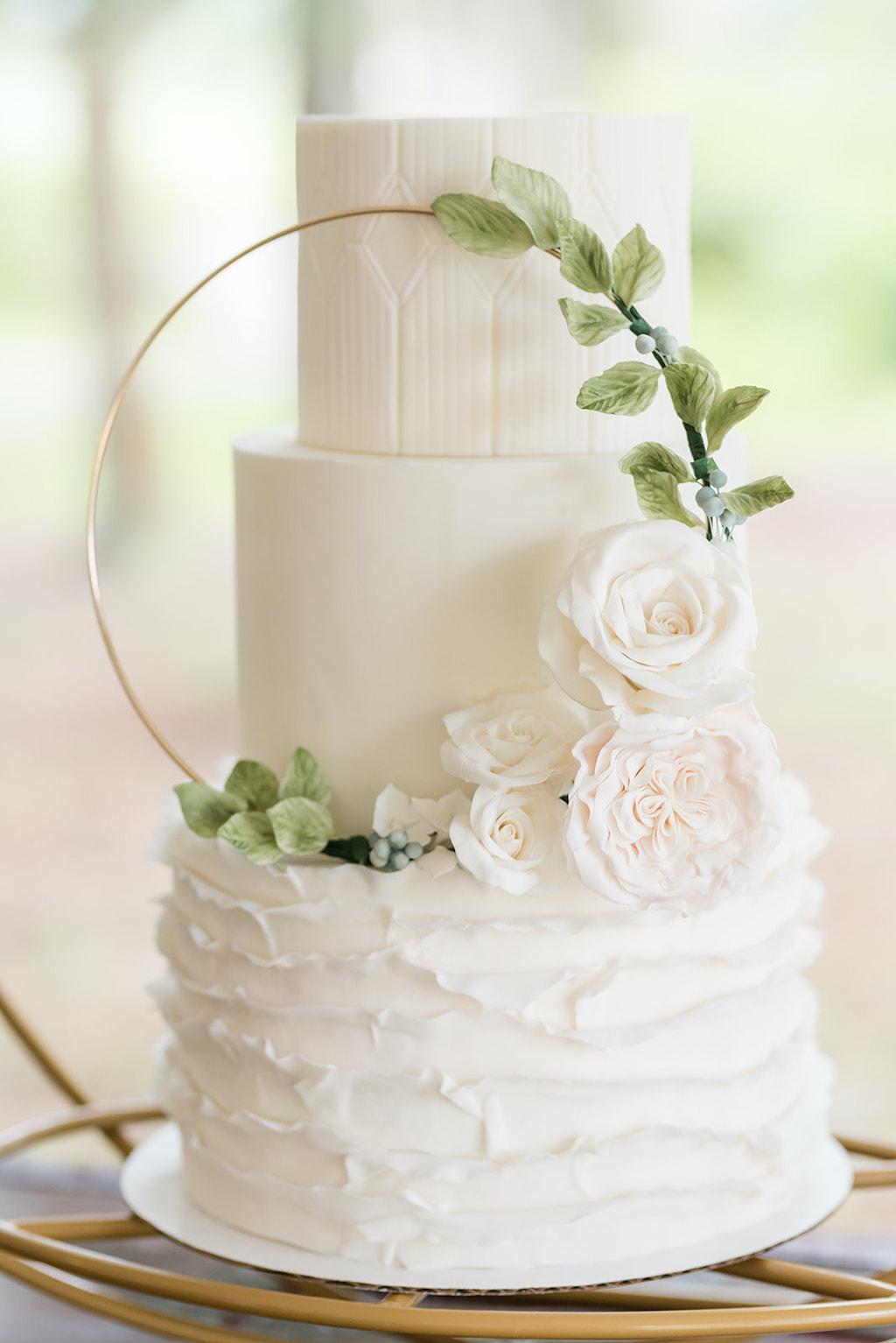 Sensational Tampa Wedding Cakes And Desserts Tampa Bay Cake Company Dusty Personalised Birthday Cards Veneteletsinfo