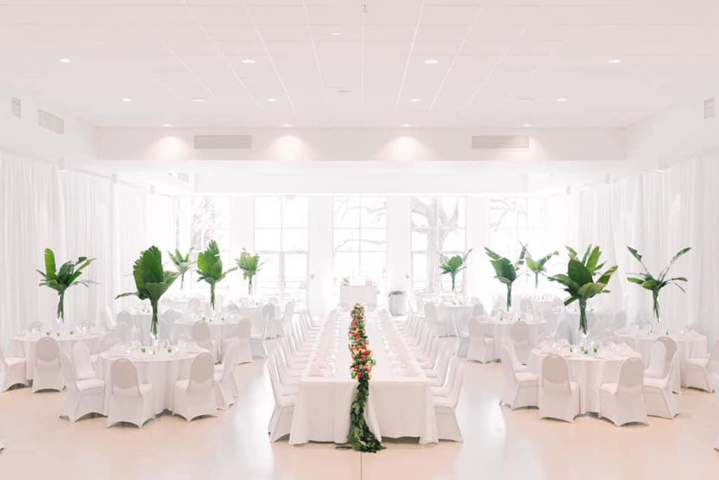 Tampa Garden Club Ballroom Reception