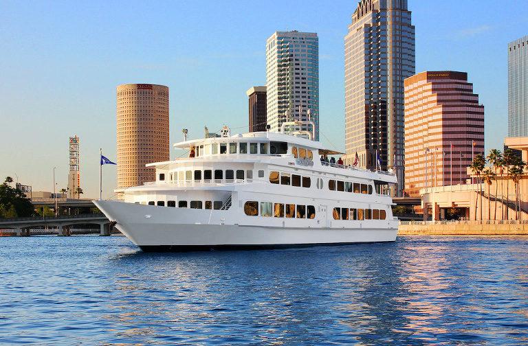 Yacht Starship Tampa Sunset Holiday and Wedding Cruise Venue