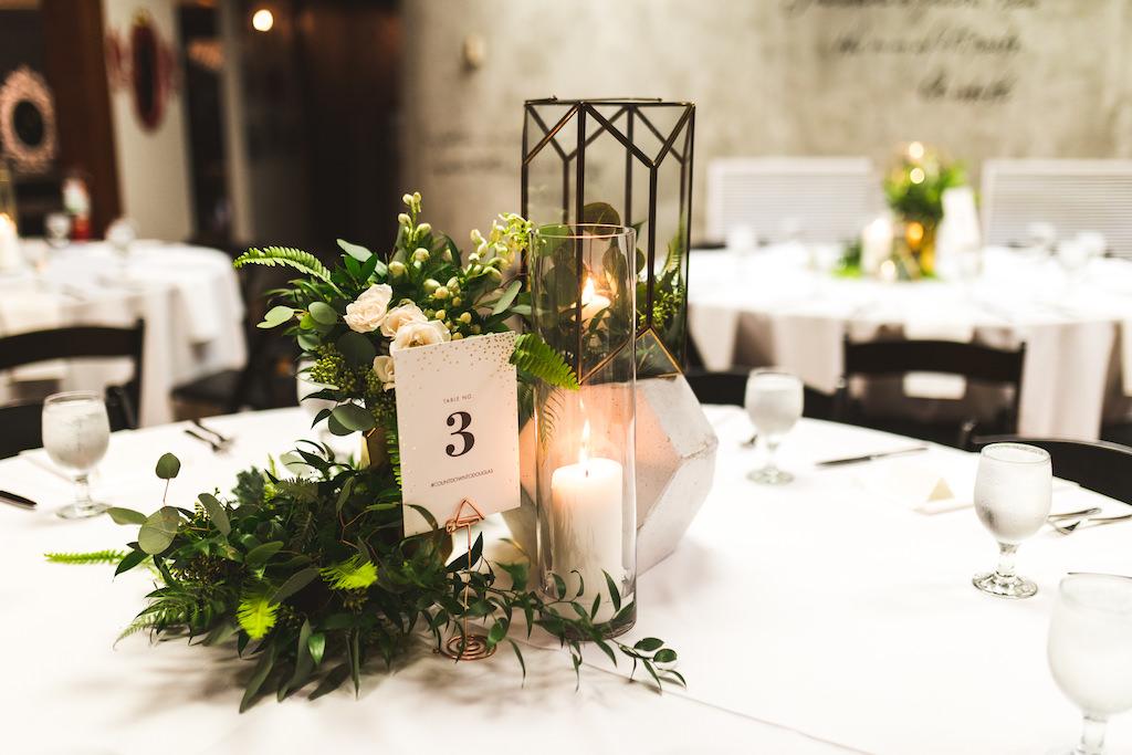 INSTAGRAM Tall Hurricane Glass Candle Holder, Geometric Vase, Greenery Floral Arrangements, New Years Eve Wedding