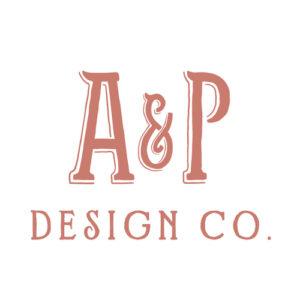 AP Design Co. LOGO | St. Pete Wedding Stationery and Invitation Designers
