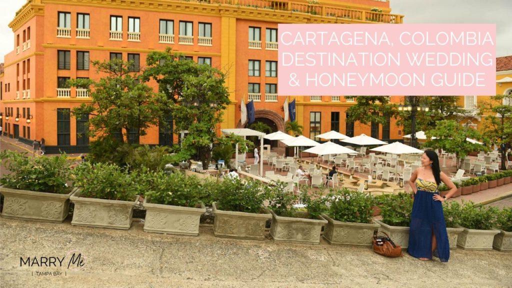 Cartagena Destination Wedding & Honeymoon Guide | Travel Tips for Visiting Colombia | Photographer: Pedraza Producciones