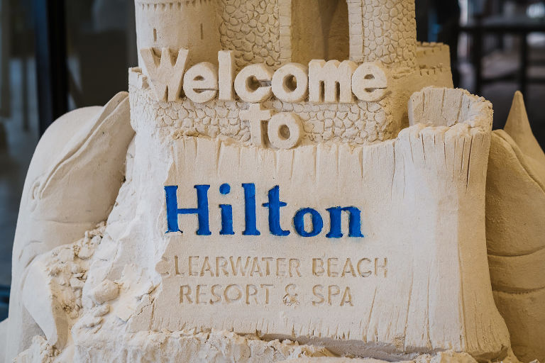Tampa Bay Waterfront Beach Hotel Wedding Venue Hilton Clearwater Beach
